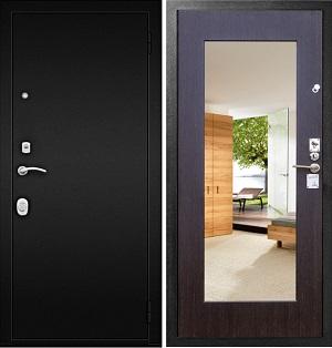 Дверь Гарда S1 с Зеркалом венге