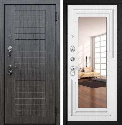 Дверь Гарда-S7 с Зеркалом внутри