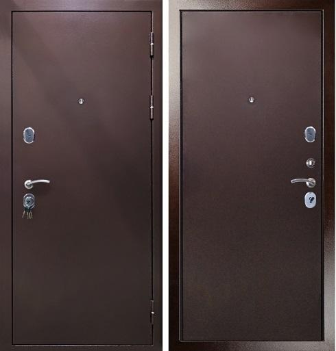 Дверь Гарда S3 входная уличная цвет медь антик