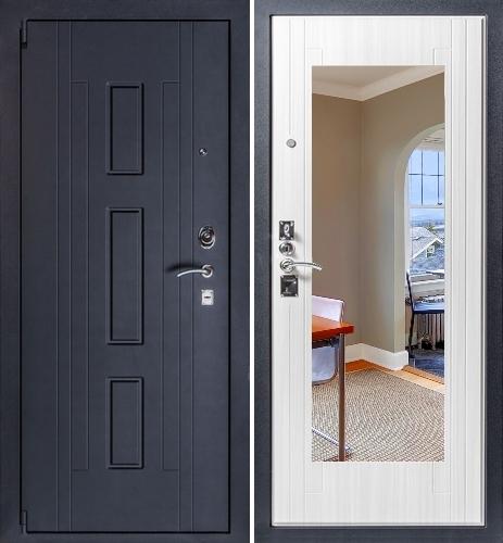Дверь Гранит Т3М с Зеркалом