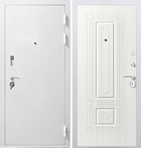 Дверь Гарда S12 белая входная