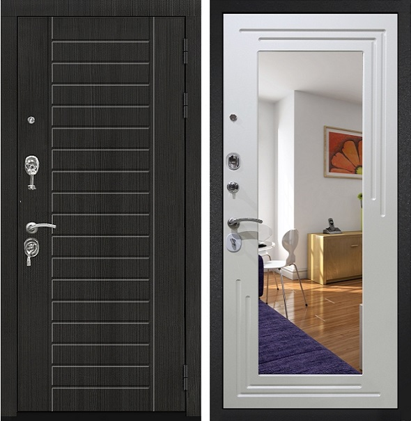 Дверь Гарда ZX с зеркалом