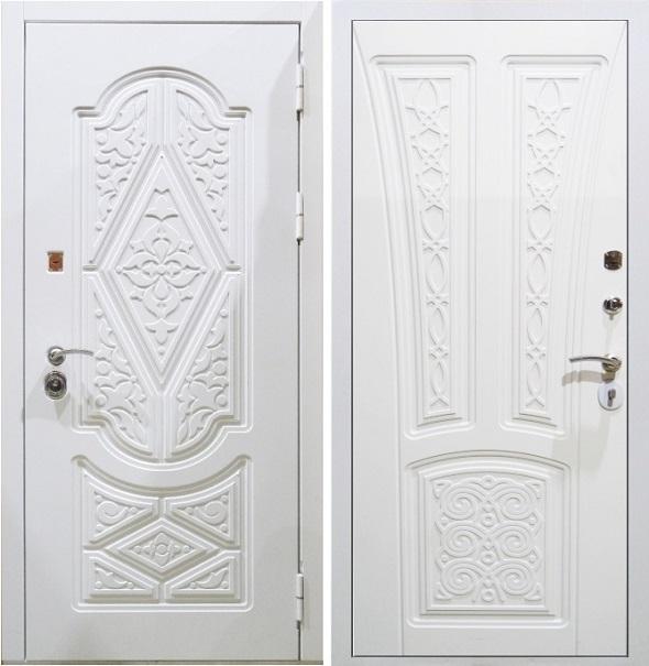 Дверь Гарда S13 Белая входная