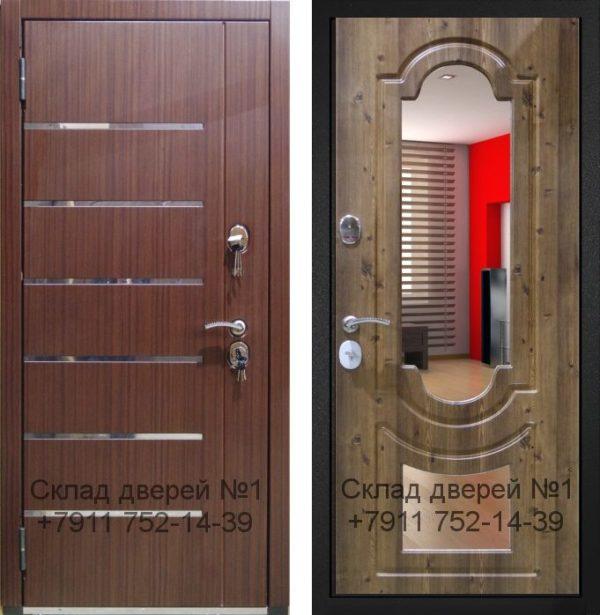 Дверь Гарда S16 с Зеркалом двойным
