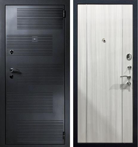 Дверь Форте Техно 3 беленый дуб